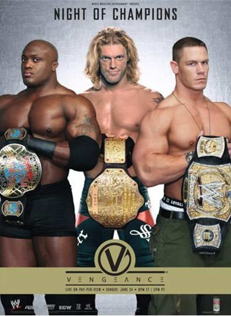 WWE Vengeance: Night of Champions 2007 Poster