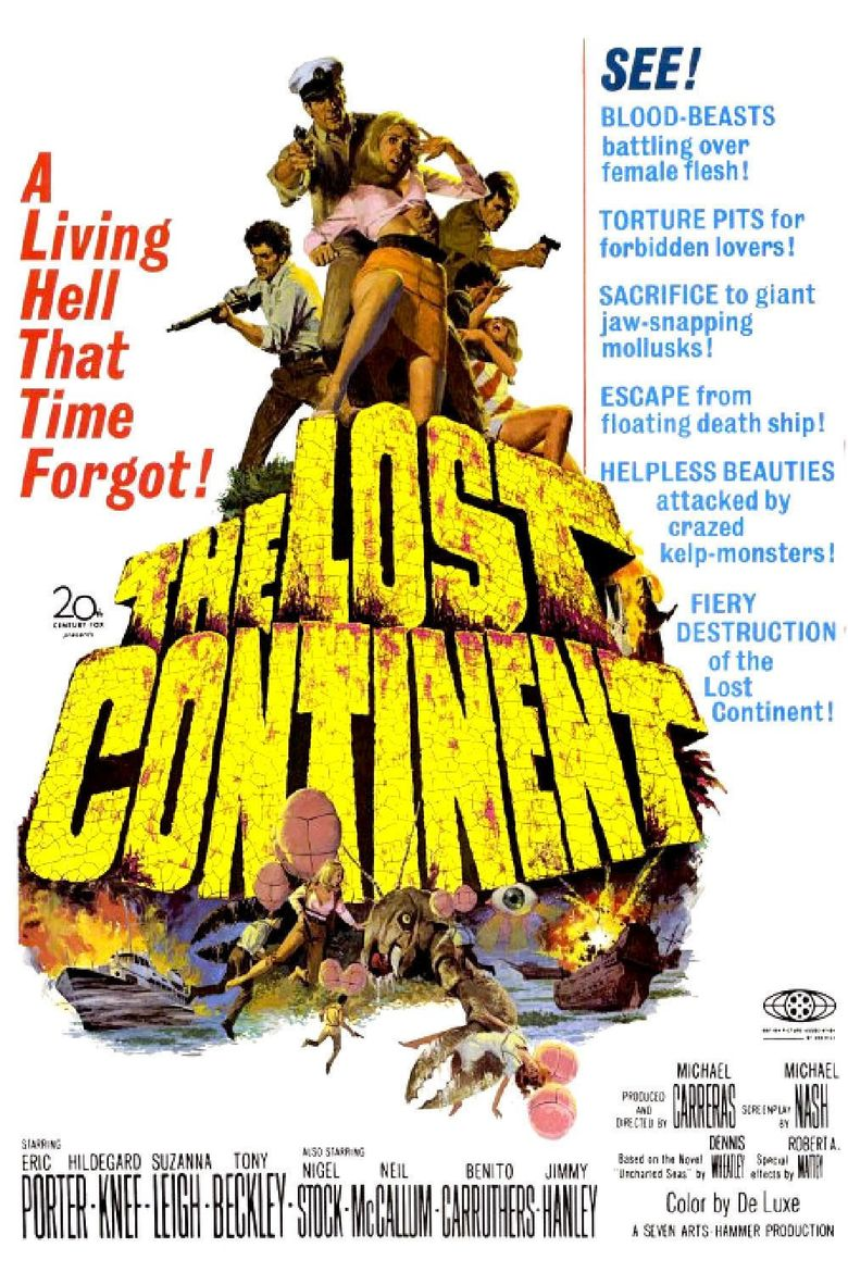 The Lost Continent Poster