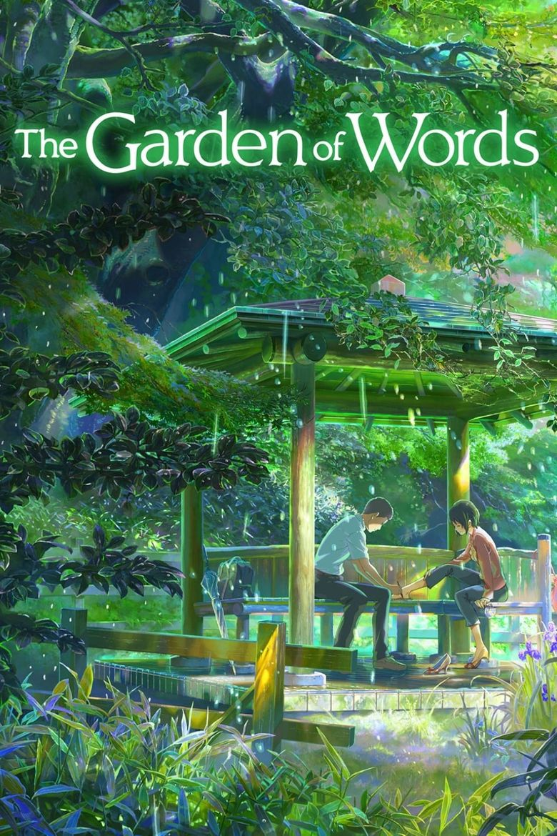 The Garden of Words Poster