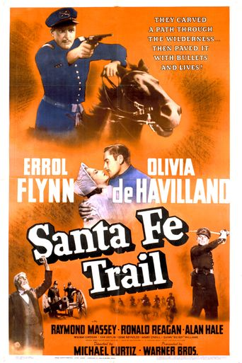 Santa Fe Trail Poster