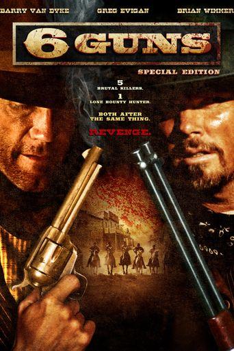 6 Guns Poster
