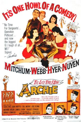 The Last Time I Saw Archie Poster