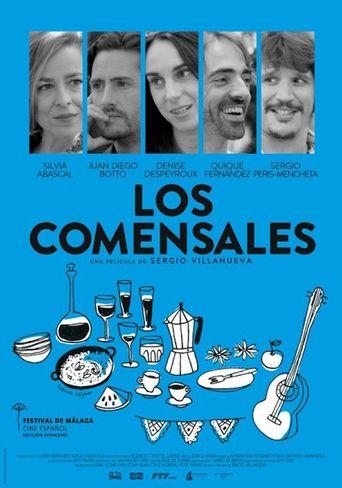 Los comensales Poster