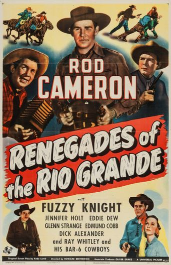 Renegades of the Rio Grande Poster