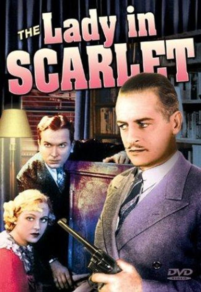 The Lady in Scarlet Poster