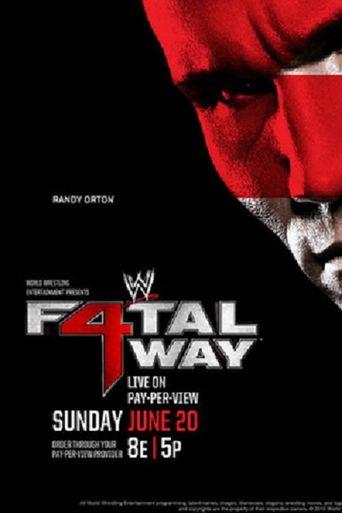 WWE Fatal 4-Way 2010 Poster