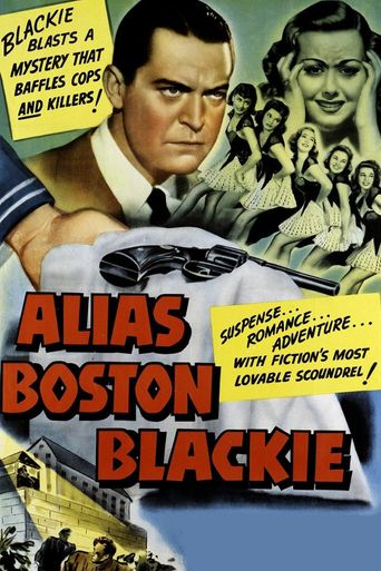 Alias Boston Blackie Poster