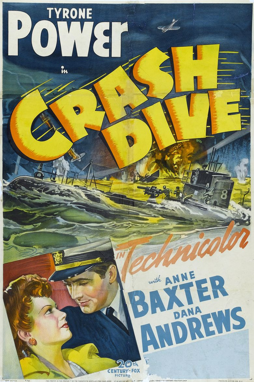 Crash Dive Poster