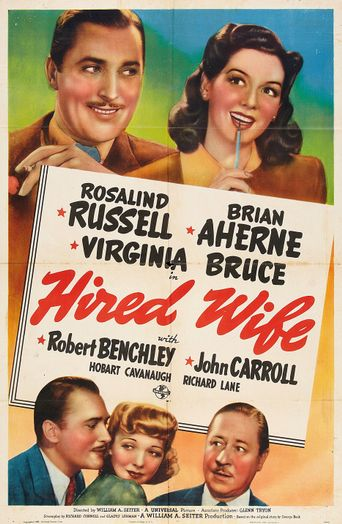 Hired Wife Poster