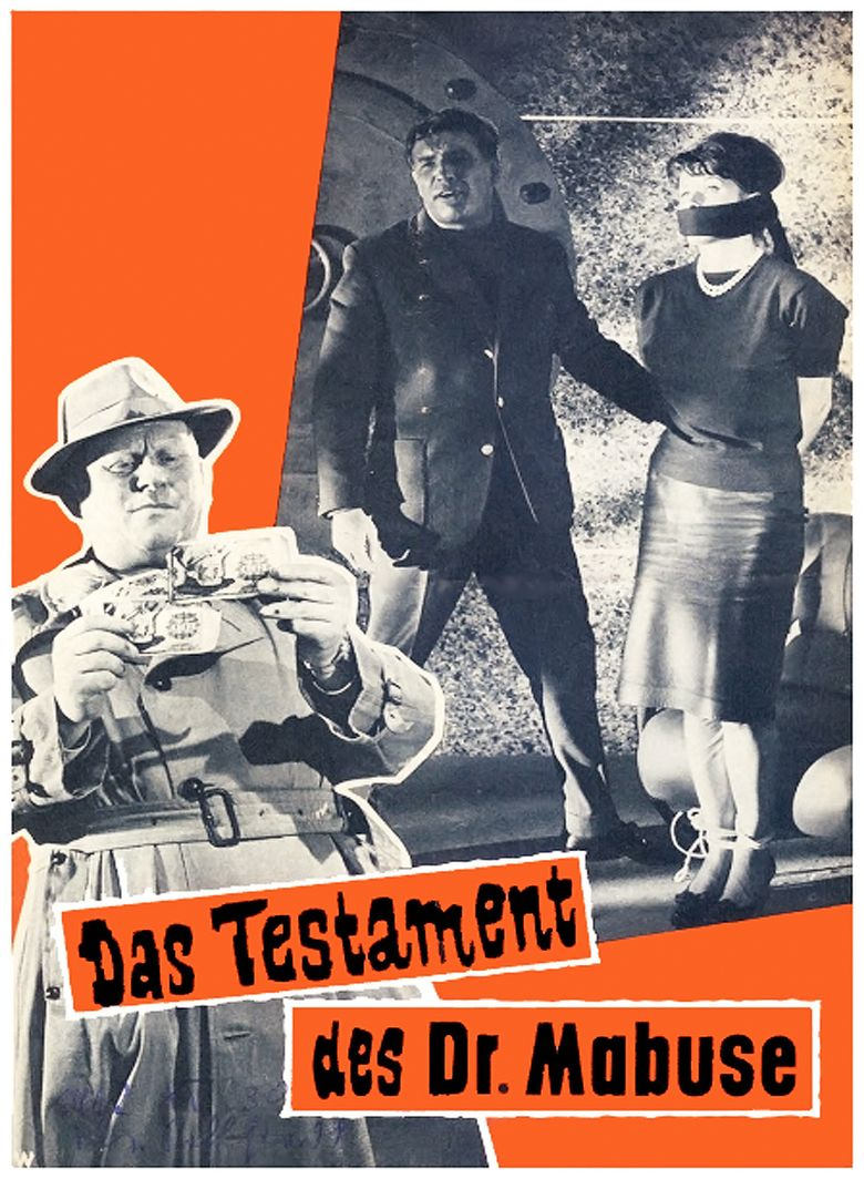 The Terror of Doctor Mabuse Poster