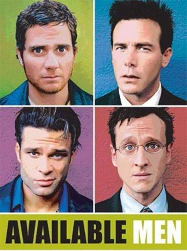 Available Men Poster