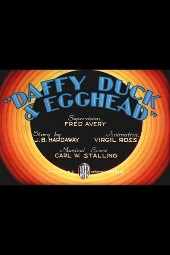 Daffy Duck & Egghead Poster