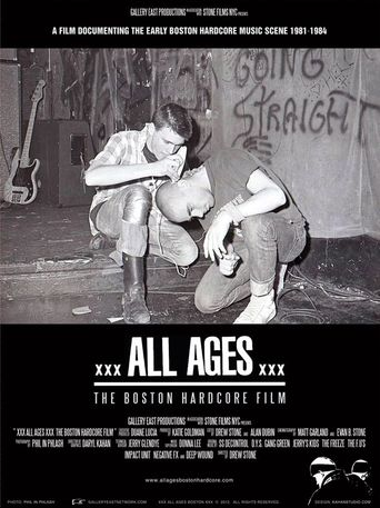 All Ages: The Boston Hardcore Film Poster