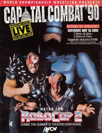 WCW Capital Combat: The Return of RoboCop Poster