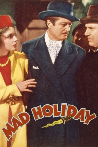 Mad Holiday Poster