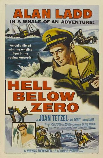 Hell Below Zero Poster