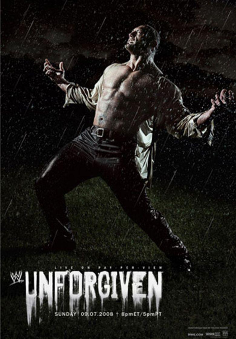 WWE Unforgiven 2008 Poster