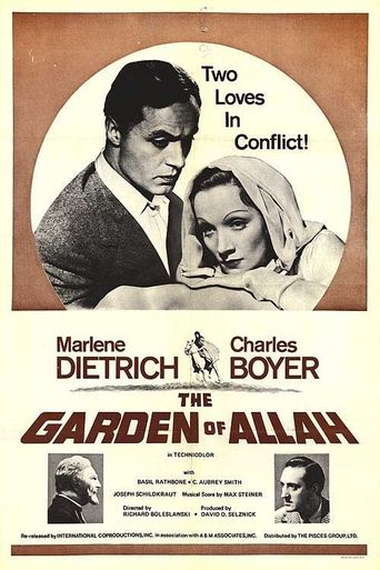 The Garden of Allah Poster