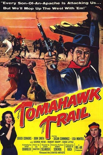 Tomahawk Trail Poster