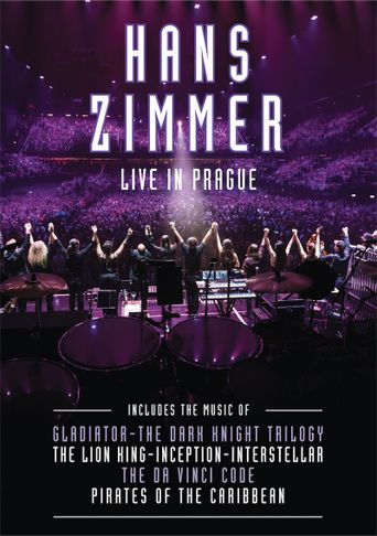 Hans Zimmer: Live in Prague Poster