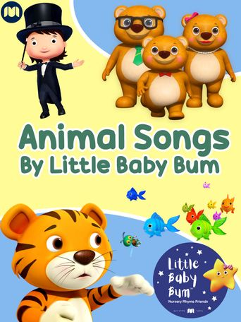Animal Songs by Little Baby Bum Poster