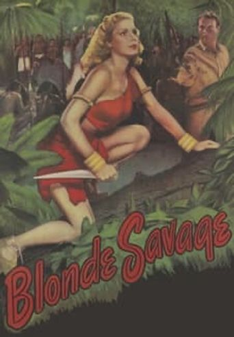 Blonde Savage Poster