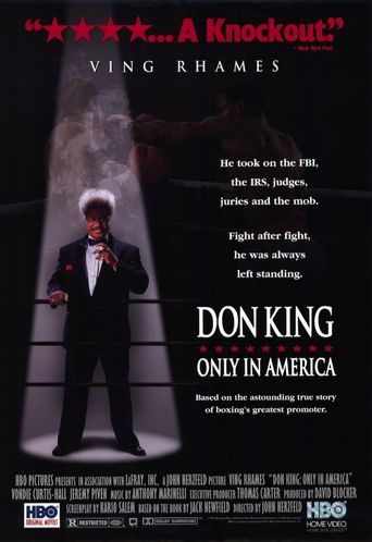 Don King: Only in America Poster