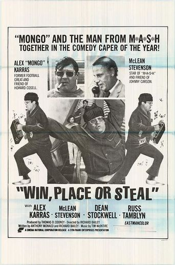 Win, Place or Steal Poster