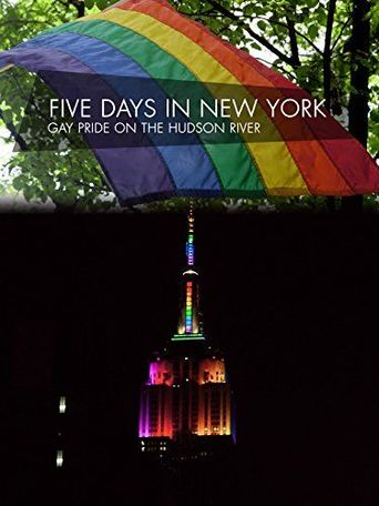 Five Days in New York - Gay Pride on the Hudson River Poster