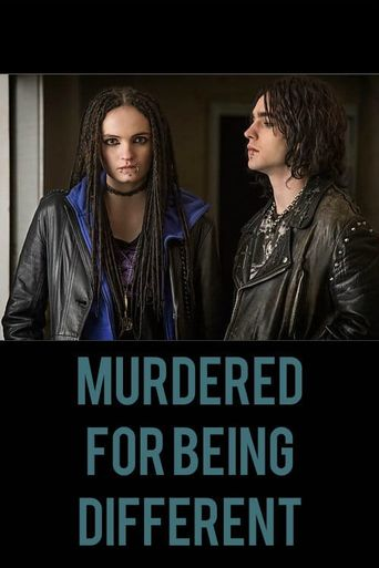 Murdered for Being Different Poster
