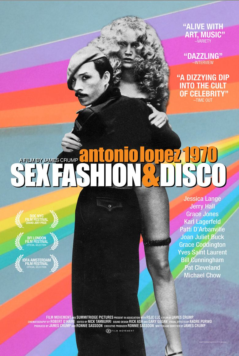 Antonio Lopez 1970: Sex Fashion & Disco Poster