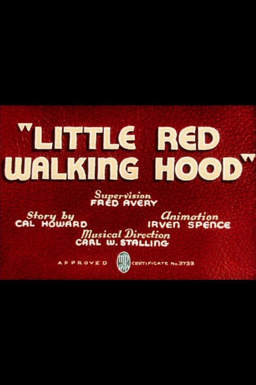 Little Red Walking Hood Poster