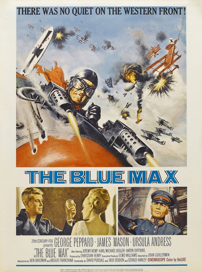 The Blue Max Poster