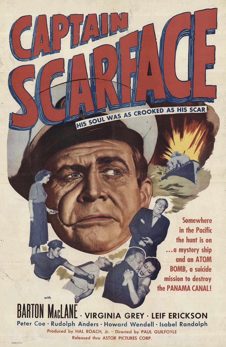 Captain Scarface Poster