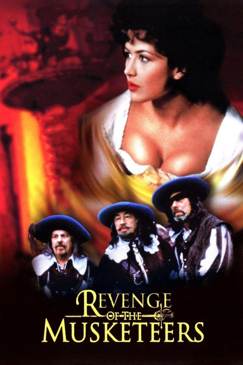 Revenge of the Musketeers Poster