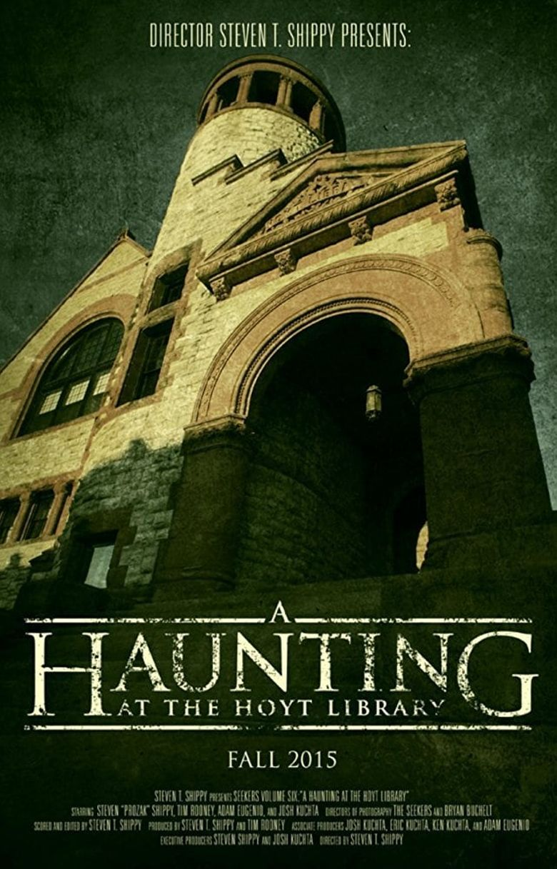A Haunting at the Hoyt Library Poster