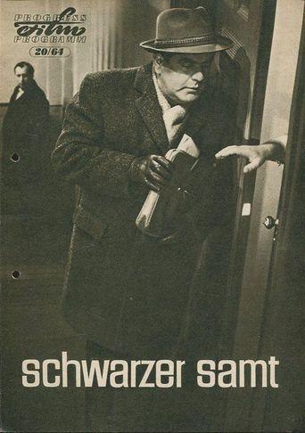 Schwarzer Samt Poster