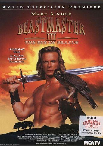 Beastmaster III: The Eye of Braxus Poster