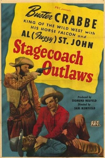 Stagecoach Outlaws Poster