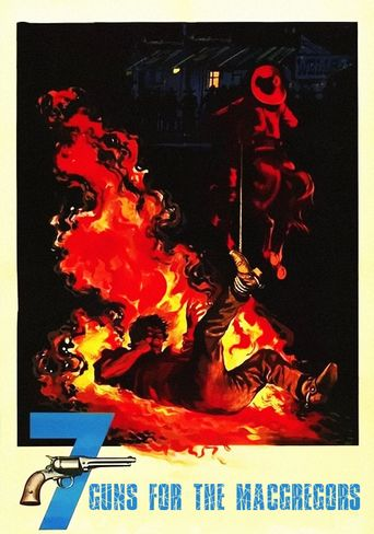 Seven Guns for the MacGregors Poster