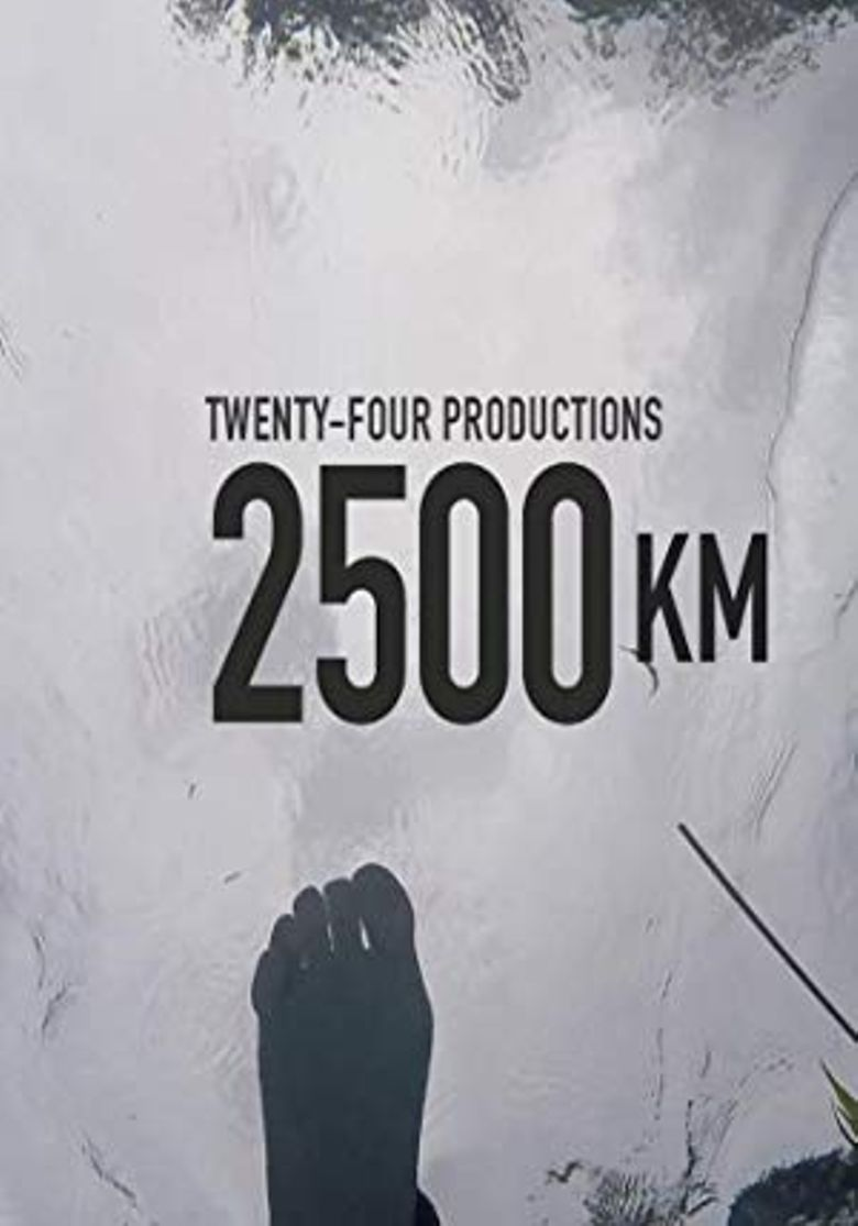 2500 km Poster