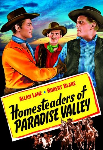 Homesteaders of Paradise Valley Poster