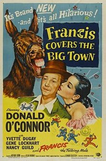 Francis Covers the Big Town Poster