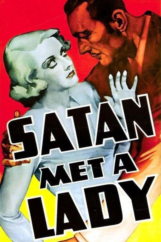 Satan Met a Lady Poster