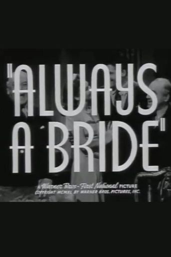 Always a Bride Poster