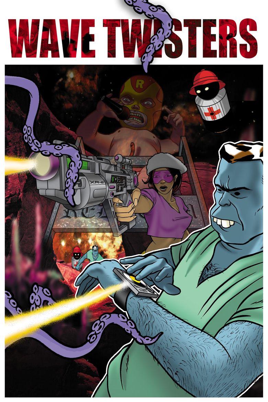 DJ Q.bert's Wave Twisters Poster
