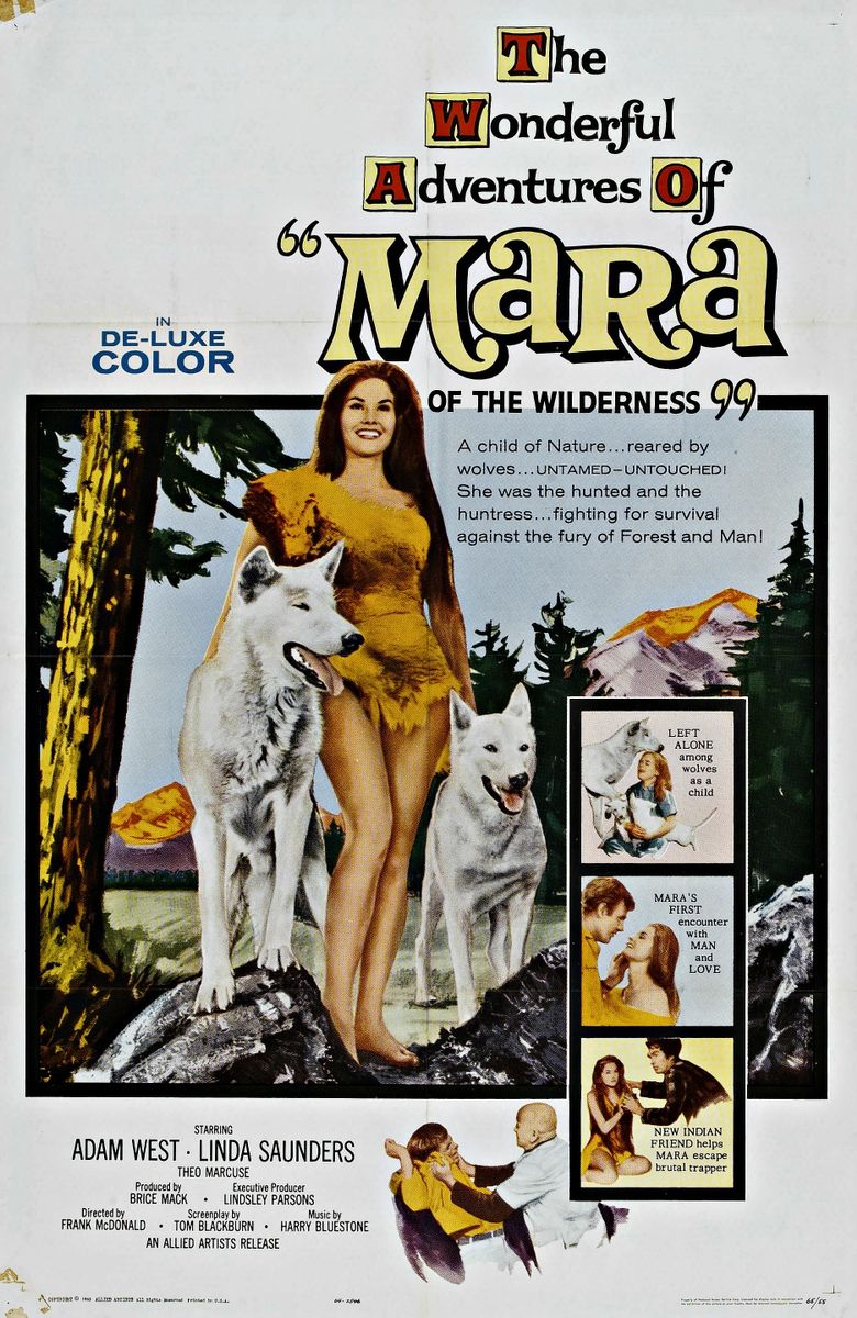 Mara of the Wilderness Poster