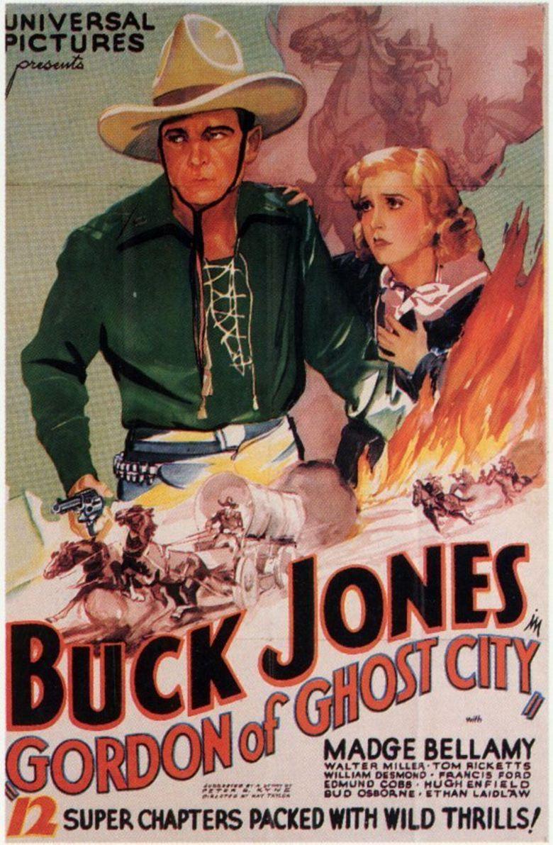 Gordon of Ghost City Poster