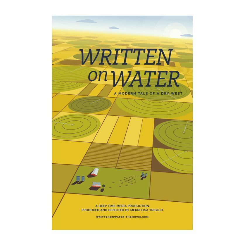 Written On Water Poster