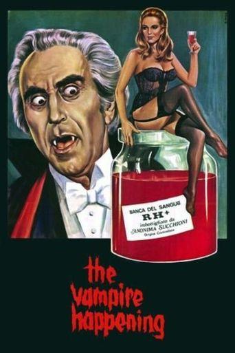 The Vampire Happening Poster